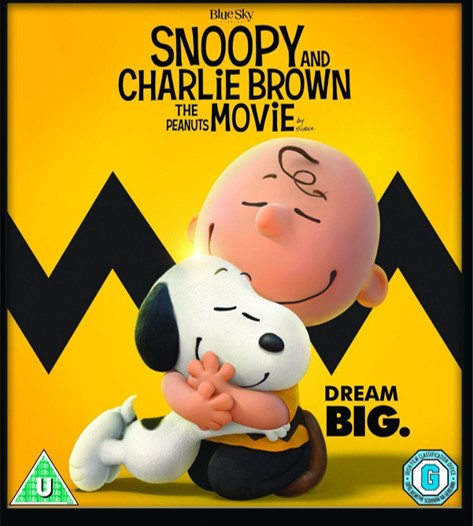 Win a copy of Snoopy and Charlie Brown - The Peanuts Movie on DVD!