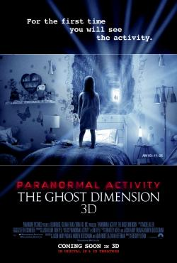 241 Tickets to see Paranormal Activity:  The Ghost Dimension!